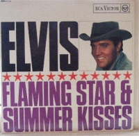 Presley, Elvis - Flaming Star & Summer Kisses, original UK RCA Victor, black label with red spot label, great condition