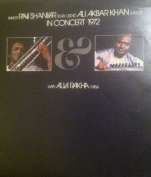 Shankar, Ravi & Friends - in Concert 1972. Original UK pressing, Apple Records [Apple SAPDO 1002] Stereo 1972, two album set c/w gatefold sleeve and Apple inners