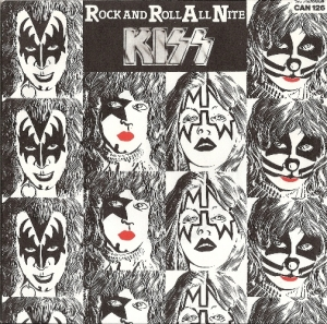 Kiss - Rock and Roll All Nite/ C'mon and Love Me - [Casablanca Records CAN 126] 1978