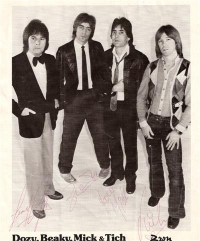 Dozy, Beaky, Mick & Tich - signed promo picture