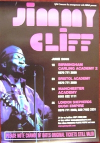 Cliff, Jimmy - [Concert Poster 2005]