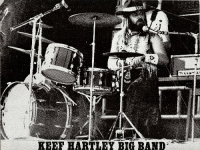 Keef Hartley Big Band tour programme from 1969