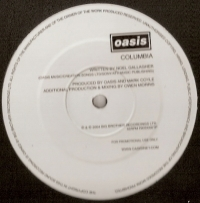 "Oasis - Columbia, [Creation Records RKID 006TP] 2004, 12"" one sided promo, mint/ unplayed"