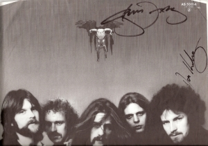 Eagles, The - LP inner sleeve signed by both Glenn Frey and Don Henley
