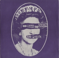 "Sex Pistols, The -  God Save The Queen/ Did You No Wrong [7"" UK original single, c/w picture sleeve]"