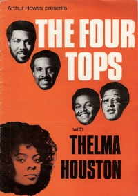 Four Tops, The - 1971 Tour Progamme