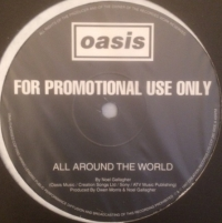 "Oasis - All Around The World/ Street Fighting Man, [Creation Records CTP 282] 1997, 12"" promo"