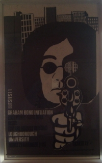 Bond Initiation, Graham - Concert Poster 1969