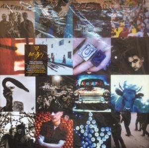 U2 - Achtung Baby [Box Set] [Mercury Records LC 00268] UK issue, 2011, 20th Anniversary Box Set, 2 LP set, plus 2 blue vinyl remix 12's, plus booklet