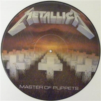 Metallica - Master Of Puppets, Picture Disc, 1st pressing 1986