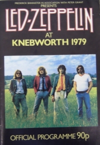 Led Zeppelin at Knebworth [Concert Programme 1979]