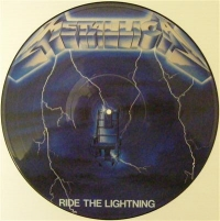 Metallica - Ride The Lighting, Picture disc, 1st pressing 1986