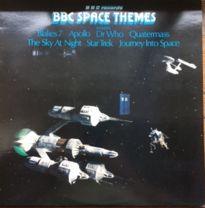 Various - BBC Space Themes, [BBC Records REH 324], Stereo 1978, TV music themes [Dr. Who, Blakes 7, Star Trek, Quatermass and others