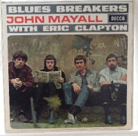 Mayall, John [with Eric Clapton] Blues Breakers, original UK release of the 'Beano' sleeve