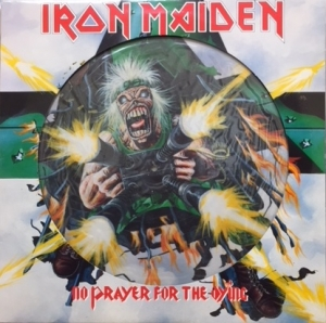 Iron Maiden - No Prayer For The Dying [EMI Records EMDPD 1017] 1990, UK issue, Picture Disc vinyl c/w die-cut sleeve