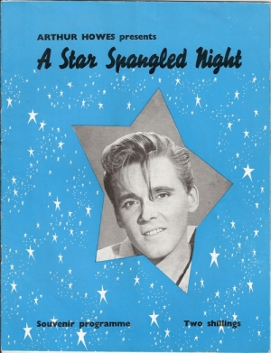 Fury, Billy & Eden Kane - A Star Spangled Night, Great copy of this original UK 1961 tour programme