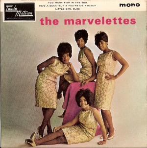 Marvelettes, The - The Marvelettes, 4 Track EP,  [Tamla Motown Records TME 2003] UK 1964, c/w picture sleeve