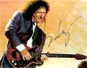 Queen - signed photo of Brian May