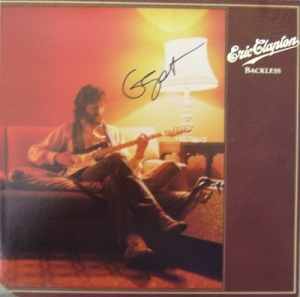 Clapton, Eric - signed 'Backless' album
