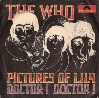 Who, The - Pictures Of Lily/ Doctor! Doctor! - [Polydor Records 59074], 1967, original European sleeve only