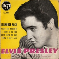 Presley, Elvis - Jailhouse Rock EP, [RCA Records 75.432] French 60's EP c/w picture sleeve