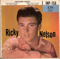 Nelson, Ricky - Unchained Melody EP, [Imperial Records IMP-158] US 60's EP *picture sleeve only*
