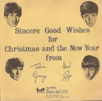 Beatles, The 1963, Christmas Record, - Beatles Christmas Record, 1963 original fan club issue only, c/w fold out sleeve, all in NM+ condition