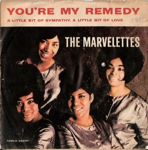 Marvelettes, The - You're My Remedy/ A Little Bit Of Sympathy, A Little Bit Of Love - [Tamla Records 54097] US 60's *picture sleeve only