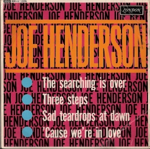Henderson, Joe - Joe Henderson EP, [London Records RE-U 1376] original UK mono 1963