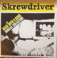 Skrewdriver - Back With A Bang, The Singles Collection [Private Pressing SCREW-001] US issue, Radio Sample - Not For Sale