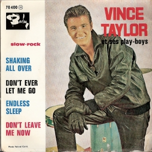 Taylor, Vince & The Play Boys - Shaking All Over EP, [Barclay Records 70 400] French 60's EP c/w picture sleeve