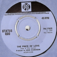 Status Quo - The Price Of Love/ Little Miss Nothing [Pye Records 7N.17825], 1969, original UK release with company sleeve