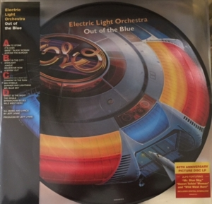 ELO [Electric Light Orchestra] - Out Of The Blue [Epic Records 88985456161] 2017 new special 40th Anniversary release, double Picture Disc album, UK