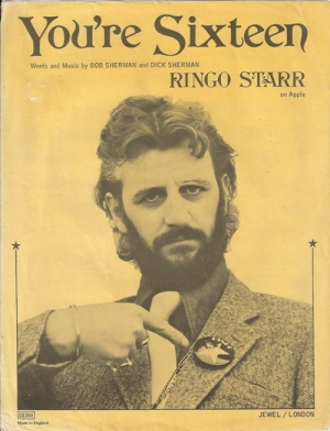 STARR, RINGO - You're Sixteen