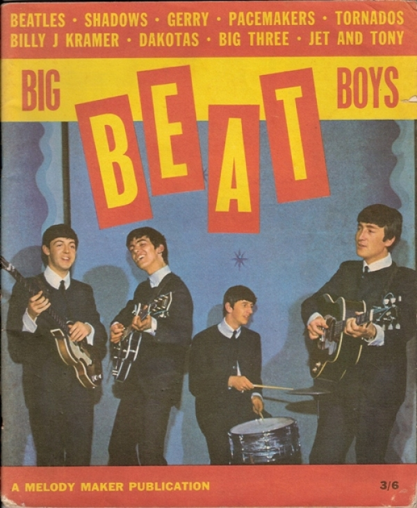 Big Beat Boys magazine with The Beatles, and the other Beat Groups.... UK magazine dating from 1963