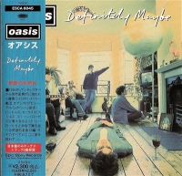 Oasis - Definitely Maybe, Japanese original CD release with obi strip