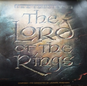 Lord Of The Rings [TV Film Soundtrack] - Music by Leonard Rosenman [EMI Fantasy Records LOR 1], Stereo 1978, 2 x LP set, original UK cartoon TV film soundtrack release