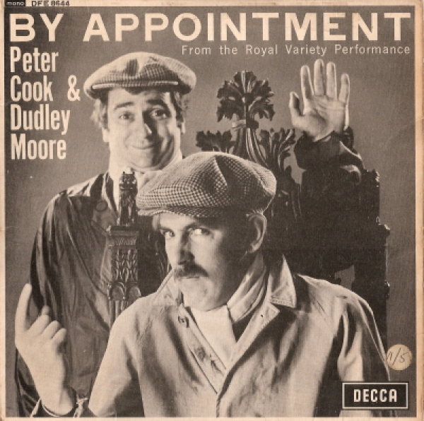 Cook, Peter  & Dudley Moore - By Appointment [UK 1965 Decca Records EP]