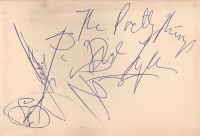 Pretty Things, The - signed album page, original 60's line up.