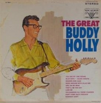 Holly, Buddy - The Great Buddy Holly, original Canadian 1967 issue album on Vocalion, rare