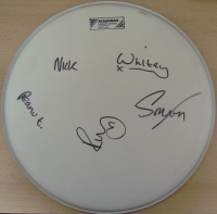 Kaiser Chiefs, The  - signed drum skin