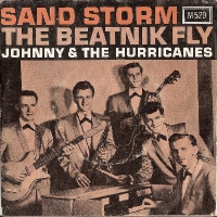 "Johnny & The Hurricanes - Sand Storm/ The Beatnik Fly, original US 7"" single, release on Warwick Records M520 in 1960, c/w picture sleeve"