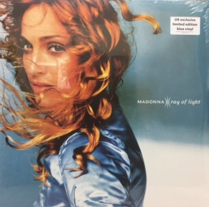 Madonna - Ray Of Light [Maverick Records 9362-46847-1] 2017, UK Exclusive Limited Edition Blue Vinyl Issue, 2 x LP's
