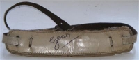 Gerry and The Pacemakers - Gerry Marsden's stage used and signed guitar strap from the early 60's