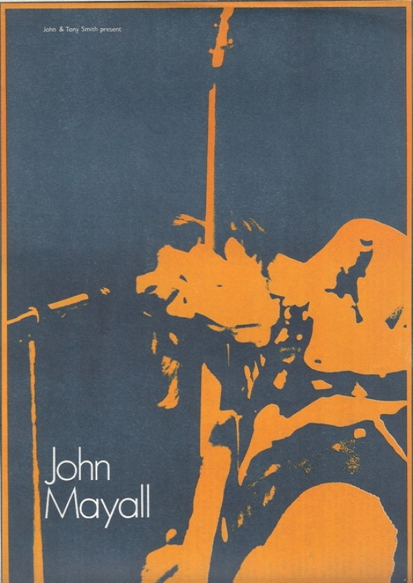 Mayall, John/ Duster Bennett...1969, UK concert program