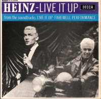 Heinz - Live It Up EP [Decca Records DFE 8559] UK 1963 Mono with picture sleeve, 4 track EP