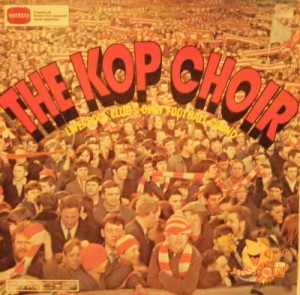 Football, Liverpool - The Kop Choir [UK issue, 1974 CBS Records/ Watneys ale promotions stereo]