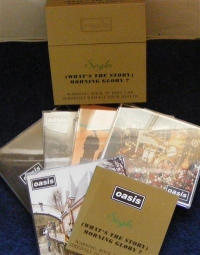 Oasis - [What's The Story] Morning Glory?, CD singles gold box set 5 x CD's plus extra