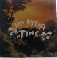 "Oasis - I'm Outta Time/ I'm Outta Time [Remix] [Big Brother RKID 55TP] 2008, 12"" promo, c/w picture sleeve and inner, mint/ unplayed"