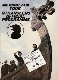 Stranglers, The - 'Men In Black' Concert Programme from 1979, includes ticket and newspaper review